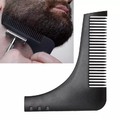 2257 Гребен за оформяне на брада тример шаблон за лесно офор-Дом и Градина