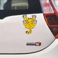 2256 Забавен стикер за кола автомобил Гарфилд 13x9cm-Дом и Градина