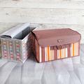 2200 Текстилна сгъваема кутия за съхранение органайзер-Дом и Градина