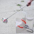 2272 Метална щипка за отпадъци хващач помощна щипка за боклу-Дом и Градина
