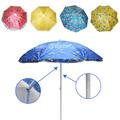 2275 Плажен чадър с чупещо рамо 160 см-Дом и Градина