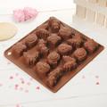2409 Силиконова форма за шоколадови бонбони Насекоми-Дом и Градина