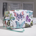 2448 Малка козметична чантичка Шарени пеперуди-Дом и Градина
