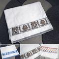 2445 Кърпа за ръце с декорация хавлиена кърпа за лице, 29x50-Дом и Градина