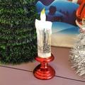 2486 Коледна електронна свещ с LED светлина, 20см-Дом и Градина