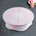2522 Въртяща се стойка за торта оразмерена с опция за заключ-Дом и Градина